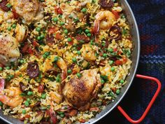 Paella Chicken and Chorizo