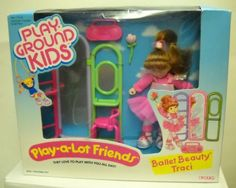2027 Vintage Ertl Play Ground Kids Play A Lot Friends Ballet Beauty Traci