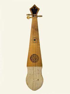 Rabab andalusí. Luthier: Jesús Reolid. Colección Instrumentos musicales con historia - Emilio Villalba
