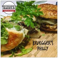 This recipe was created by Deliciously Savvy for Bruegger's Bagels and is proudly displayed on their websit .
