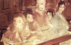 The Legend of Korra/ Avatar the Last Airbender: Kataang family! Avatar Aang, Avatar Legend Of Aang, Avatar Funny, Avatar The Last Airbender Art, Team Avatar, Legend Of Korra, Blade Runner, Mejores Series Tv, Avatar World