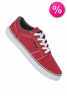 ETNIES - Barge LS red/white/grey (41% off)
