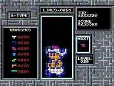 Tetris Printer Algorithm