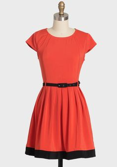 Autumnal Tales Colorblock Dress 38.99 at shopruche.com. Delight in this deep orange pleated dress with a black colorblock design at the hem. This stretchy dress is perfected with a soft, black removable belt and a hidden back zipper closure. A great match for your favorite black heels.97% Polyester, 3%...