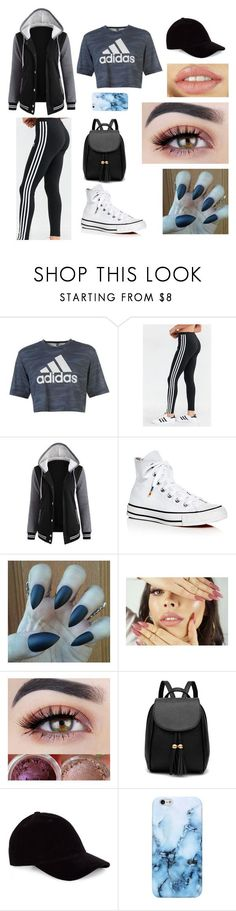 """""""#72"""" by selinan731 on Polyvore featuring adidas, Converse and Le Amonie"""