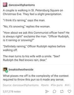 Ladies and gentlemen the most beautiful pun of history