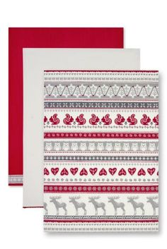 Buy 3 Festive Tea Towels from the Next UK online shop