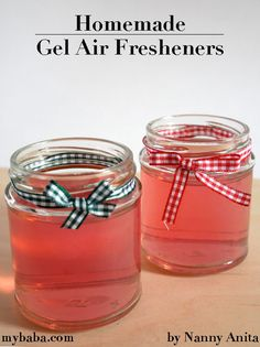 Easy to make DIY gel air fresheners filled with your favourite fragrences that will leave your rooms smelling devine. Things To Do Inside, Fun Things, Easy Gifts To Make, Paper Mache Bowls, Mothering Sunday, Mother Gifts, Mothers, Weird Gifts, Jam Jar