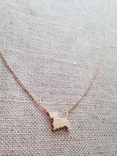 Scottie Dog Necklace Scottie Dog Jewelry by SforSparkleShop