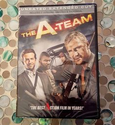 The A Team DVD 2010 Unrated Extended Liam Neesen Bradly Cooper Brand New Sealed