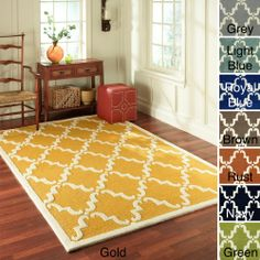 nuLOOM Handmade Luna Marrakesh Trellis Wool runner Rug (2'6 x 8') | Overstock.com Shopping - The Best Deals on Runner Rugs