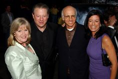 Did Al Gore Cheat on Tipper With Larry David's Ex Wife Laurie David? Laurie David, Al Gore, Ex Wives, Larry