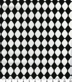 Keepsake Calico Fabric-White Harlequin, , hi-res 1843036