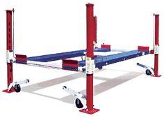Backyard Buddy standard 7,000 pound auto and truck lifts. Made in America #MadeiNSUA via BuyDirectUSA.com #DIY