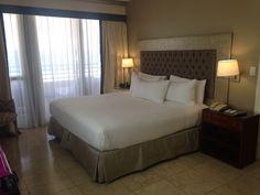Bedroom of suite 801, Hilton Bentley Miami