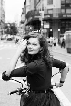 Paulina Porizkova photographed by Katharina Poblotzki, NYC