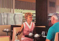 Robert Bechtle (b. 1932). At The Golden Nugget, 1972. Oil on canvas.