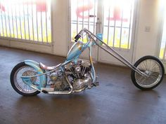 Sweet California Motorcycle | Totally Rad Choppers