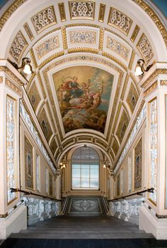 The Staircase, Victoria and Albert Museum, London, England