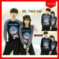Sweater Couple Doraemon Everything Terbaru
