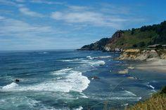 Route Coast Highway in Oregon. Pacific Coast Highway, Sally, Oregon, Road Trip, Retro, Places, Water, Outdoor, Gripe Water