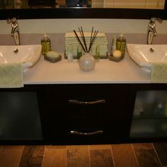Spaces Bathroom Double Sink Design, Pictures, Remodel, Decor and Ideas - page 11