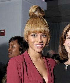 Did Beyoncé Take This Top Bun Too Far?