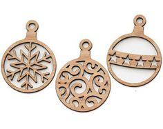 laser cut wood ornament - Google Search