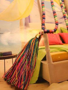 Colorful tassel Rosario