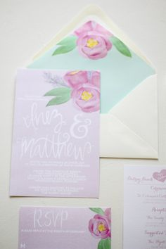 #hand painted invitations  ... Wedding ideas for brides, grooms, parents & planners ... https://itunes.apple.com/us/app/the-gold-wedding-planner/id498112599?ls=1=8 … plus how to organise an entire wedding ♥ The Gold Wedding Planner iPhone App ♥ http://pinterest.com/groomsandbrides/boards/