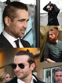 Are All Men Growing Their Hair To Get Some... BUNS?