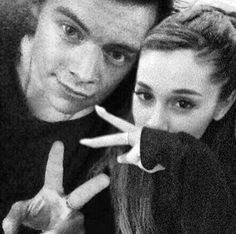 harry styles and ariana grande | Harry styles and Ariana Grande
