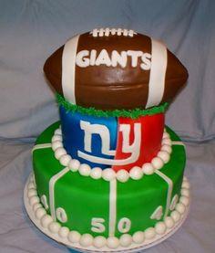 New York Giants Cake