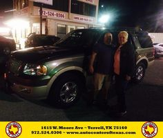 https://flic.kr/p/CY4w8j | Happy Anniversary to Janet on your #Ford #Expedition from Fidel Rodriguez at Auto Center of Texas! | deliverymaxx.com/DealerReviews.aspx?DealerCode=QZQH