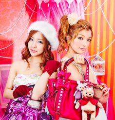 Itano Tomomi and Rola for Samantha Thavasa in ViVi January 2012