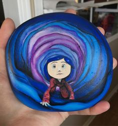 """Tara C on Instagram: """"#coraline #rockpainting"""" Tim Burton Sketches, Coraline Drawing, Coraline Aesthetic, Trippy Painting, Button Eyes, Aesthetic Painting, Rock Painting Designs, Painted Clothes, Pottery Painting"""