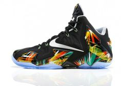 """Nike LeBron 11 """"Everglades"""": Nike presents the LeBron 11 """"Everglades,"""" the latest colorway to drop for LeBron's signature shoe. Nike Lebron, Lebron 11, Lebron James, Sports Shoes, Basketball Shoes, Nike Presents, James Shoes, Site Nike, Nike Leggings"""