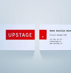 Upstage identity on Behance