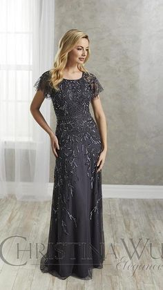 Evening Dresses With Sleeves, Mob Dresses, Types Of Dresses, Pageant Dresses, Wedding Dresses, Wedding Outfits, Prom Dress, Mother Of The Bride Gown, Mother Of Groom Dresses
