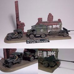 Morris Truck E 17 PDR. Gun e Jeep 1/76 Revell Normandy Invasion June 1944 By… Normandy Invasion, Scale Models, Vignettes, Military Vehicles, Jeep, Guns, 1, Trucks, Instagram Posts