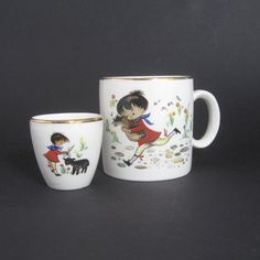 Vintage Irish Arklow pottery  Baa Baa Black by SugarLMtnAntqs, $19.95