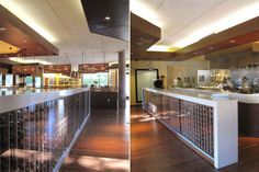 Tender Greens store located in Walnut Creek was completed in 2010, by Valerio Architects.