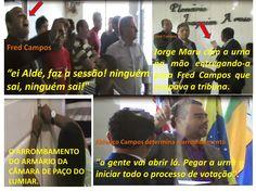 EDGAR RIBEIRO: IRMÃOS CAMPOS E JORGE MARU VÃO PAGAR CARO POR GOLP...