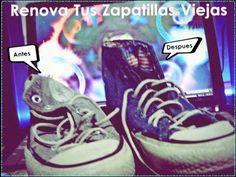 DIY Renova Tus Zapatillas Viejas Para Navidad - Yani Brilz - YouTube