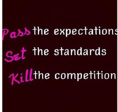 Pass. Set. Kill...it's all I ask from my team!