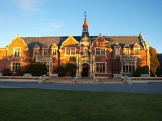 George Forbes Memorial Library, Lincoln University, Lincoln, New Zealand.