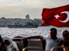 Russian warships and naval assets sailing through Bosphorus strait has Turkey frightened The strait that separates the Black Sea from the Meditenian.  He has been watching boats on the Bosphorus strait for two decades; but, until recently, it had been years since Serhat Guvenc had glimpsed a Russian warship. Common in the Cold War era and again during the Balkans conflict, they had become a rare sight on the mighty waterway that transects the ancient city of Istanbul  separates Europe ,mar16