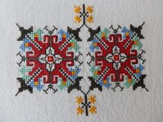 Ukraine, from Iryna Cross Stitch Geometric, Cross Stitch Love, Cross Stitch Needles, Cross Stitch Borders, Cross Stitching, Cross Stitch Patterns, Embroidery Motifs, Vintage Embroidery, Cross Stitch Embroidery