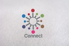 Tech, Network, Internet, Connection by Design Studio Pro on Creative Market Badge Template, Logo Templates, Business Brochure, Business Card Logo, Down Icon, Music Festival Logos, Circle Logos, Pinterest For Business, Creative Sketches
