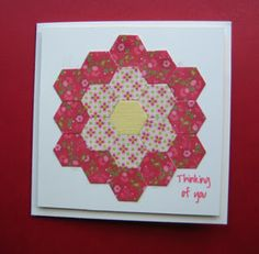 quilt card by Bobby